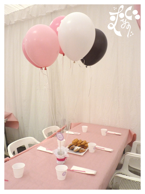 Decoracion con globos de un casal fallero eleyce eventos for Decoracion globos valencia