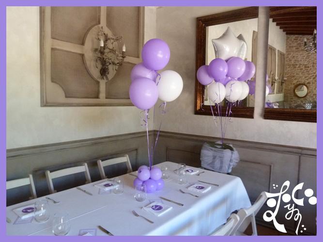 Minutas place card y decoracion globos mesa ni os for Decoracion globos valencia