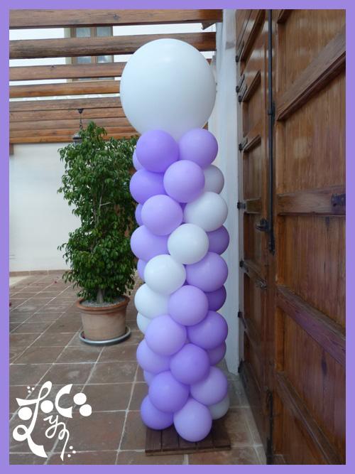 Decoracion con globos para bautizos valencia car for Decoracion globos valencia