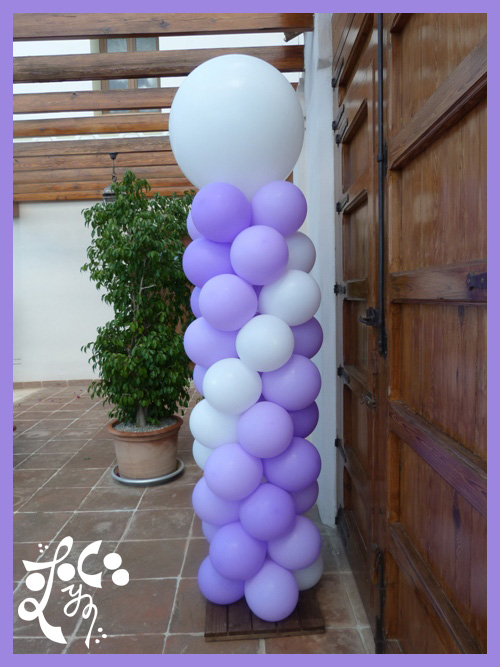 decoracion con globos para bautizos valencia car