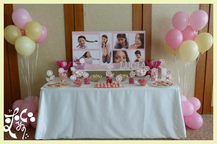 Mesas dulces para comuniones en valencia eleyce eventos - Como decorar una mesa de comunion ...