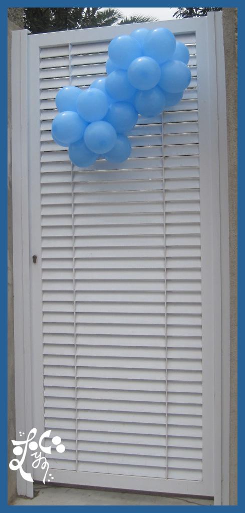 Decoraci n con globos de la primera comuni n en valencia - Decoracion en valencia ...