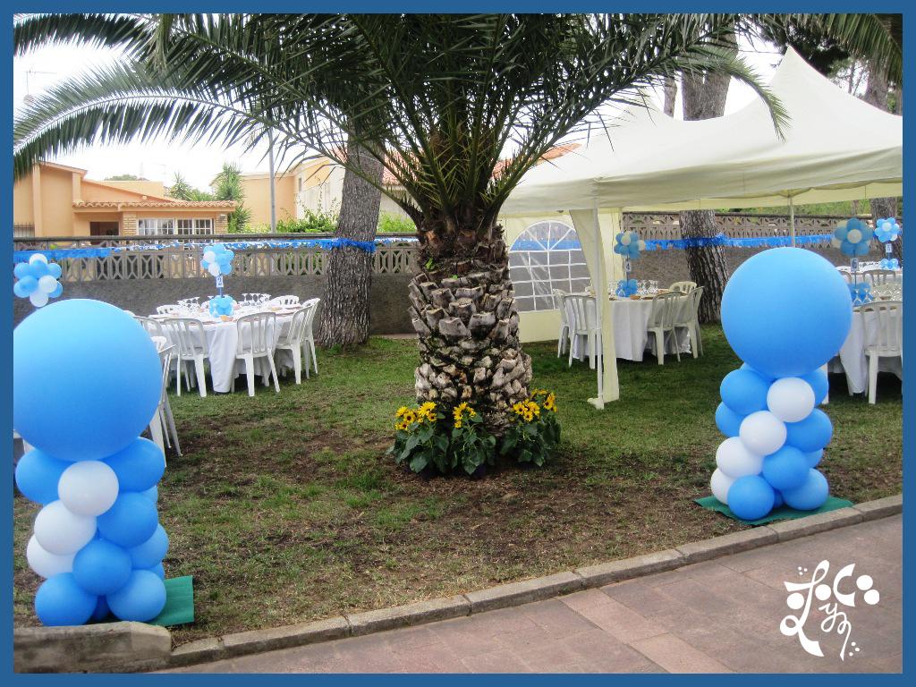 decoraci n con globos de la primera comuni n en valencia