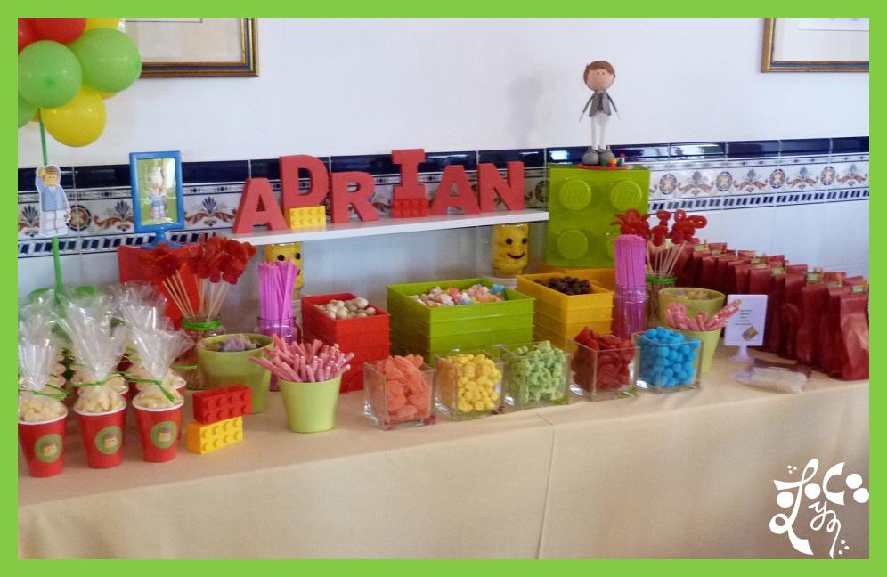 mesas dulces con chucherias y gominolas eleyce eleyce