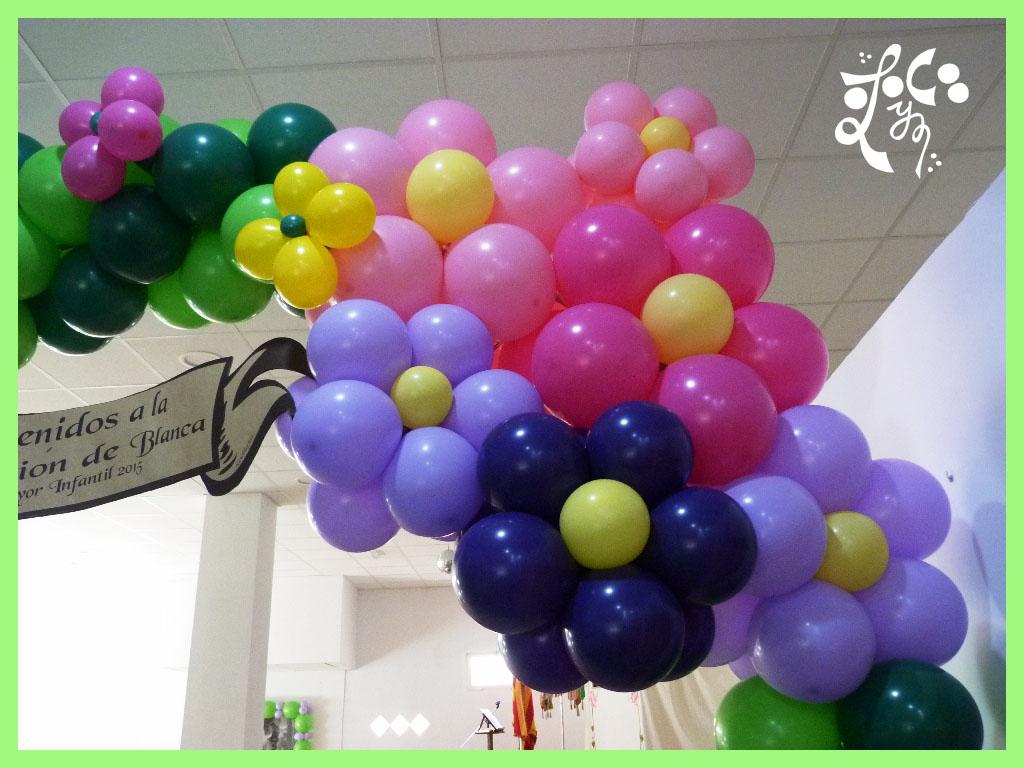 Decoracion con globos para bautizos decoracion infantil en for Decoracion globos valencia