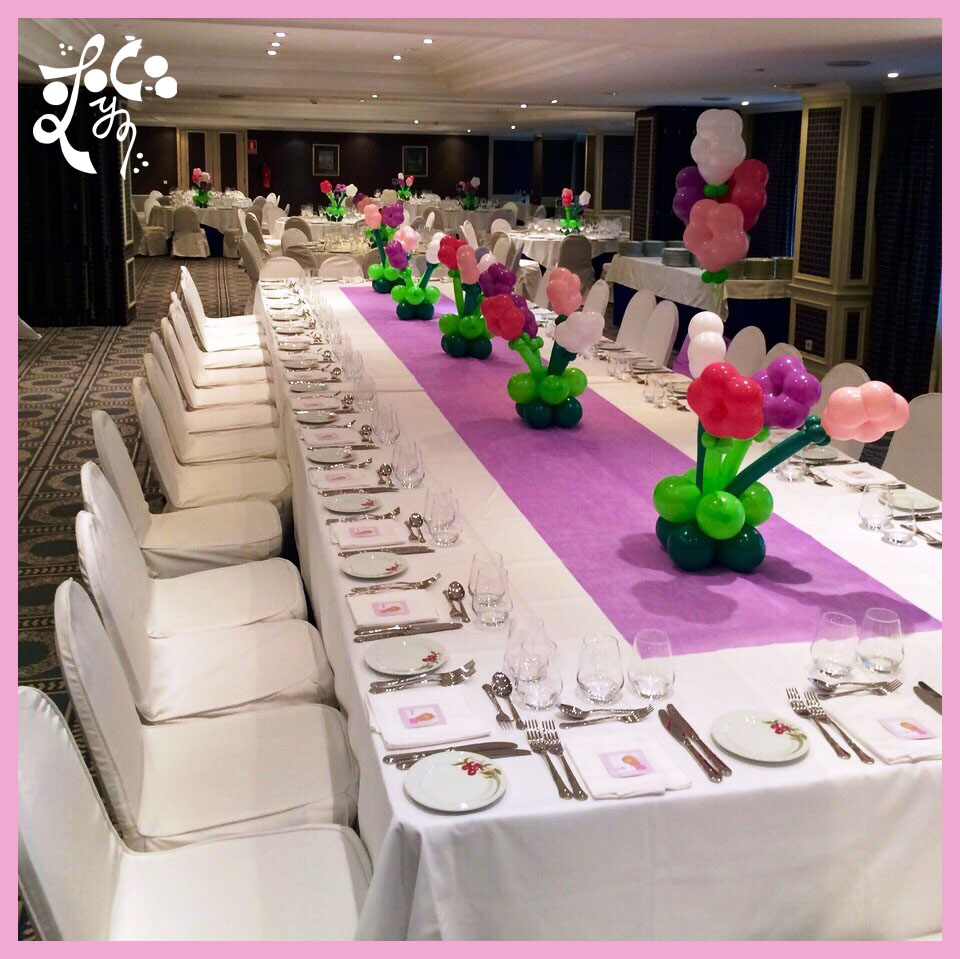 Decoraci n globos comunion valencia eleyce eventos for Decoracion bodas valencia