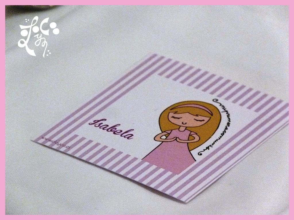 PLACE CARD COMUNION VALENCIA