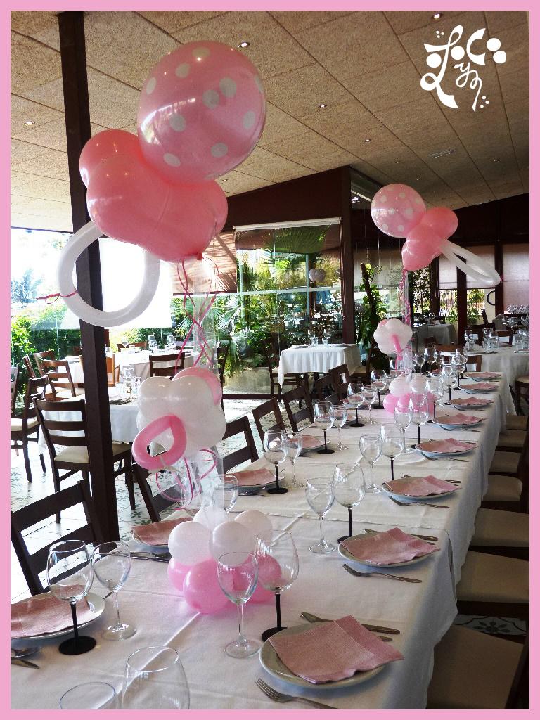 Arreglos de mesa con globos car interior design pin - Centros de mesa con globos ...