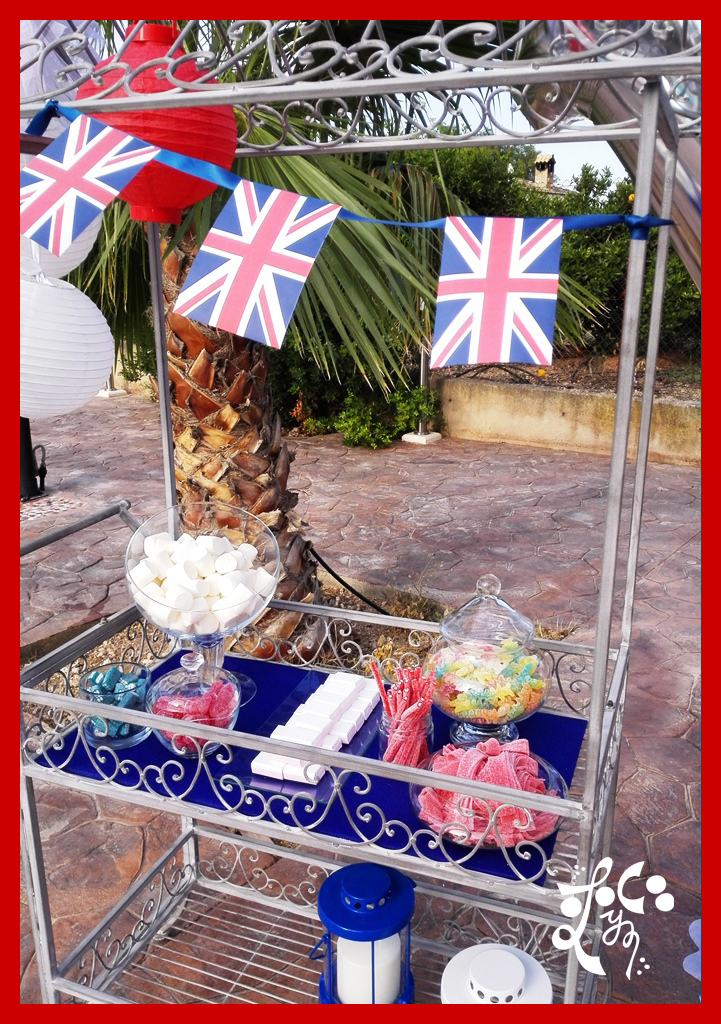 CANDY BAR FIESTA TEMATICA LONDON