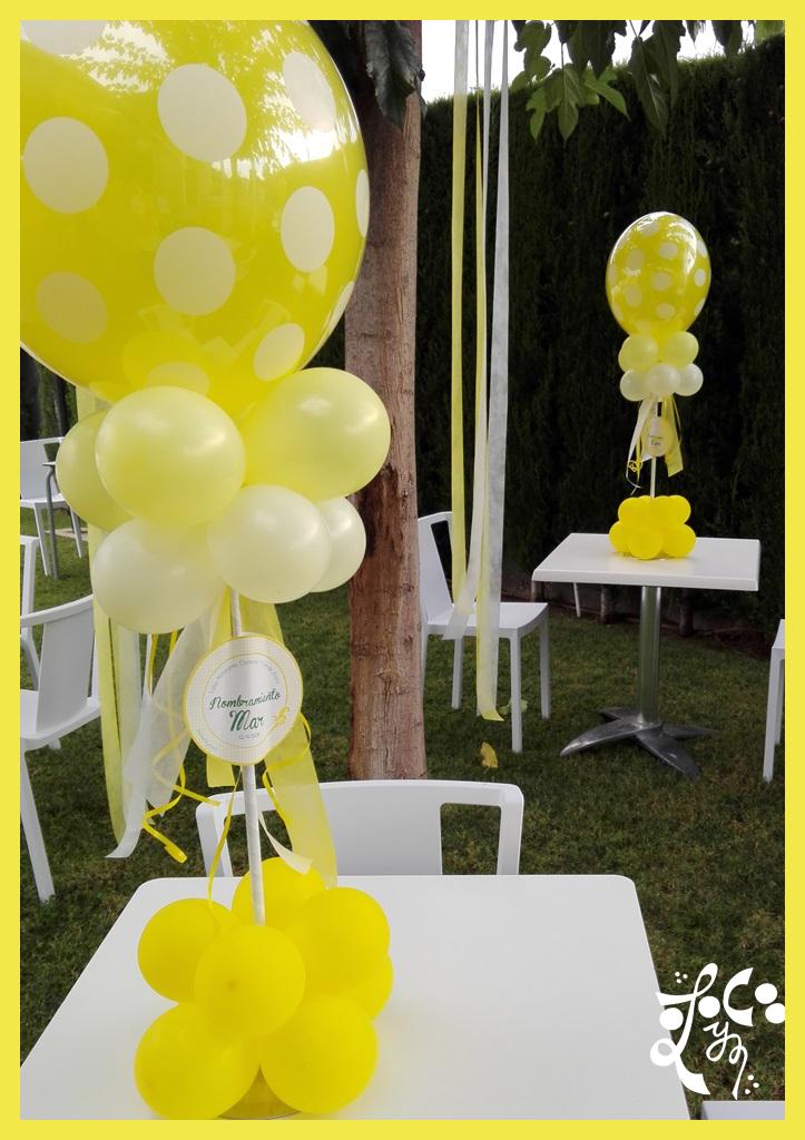 Decoraci n con globos proclamaci n fallera mayor infantil for Decoracion globos valencia