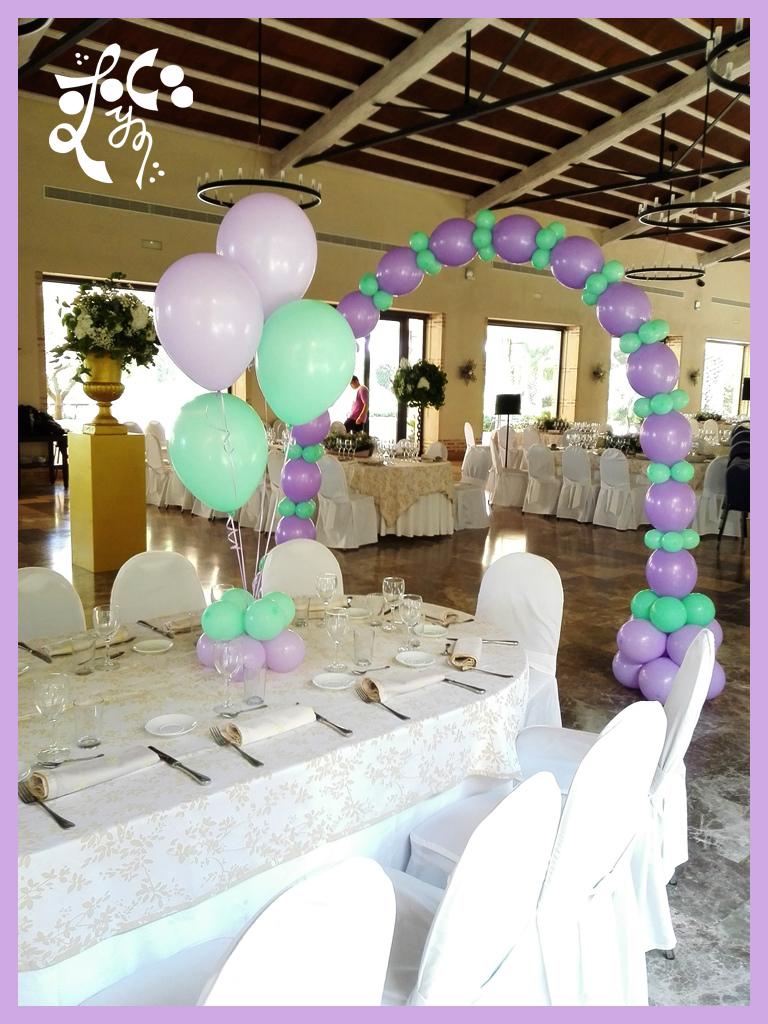 decoraci n con globos comunion huerta de santa maria ForDecoracion Globos Valencia