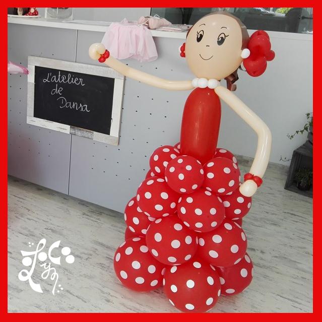 Flamenca de globo en l atelier de dansa valencia eleyce - Atelier valencia ...
