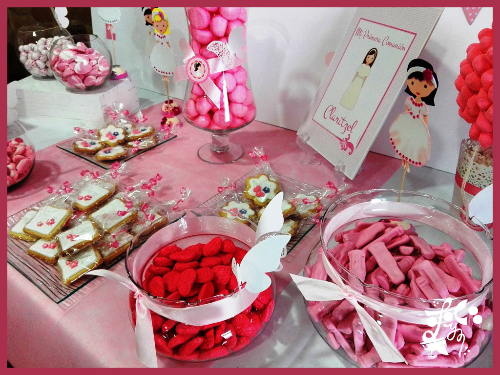 Mesa dulce mickey mouse minnie mouse candy bar madrid - Decoraciones de bares ...