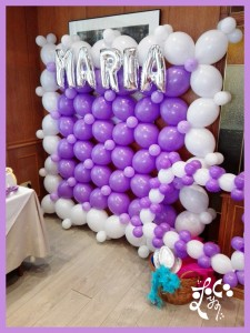 PARED DE GLOBOS PHOTOCALL