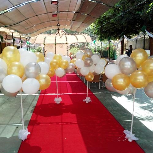suelta de globos valencia boda salon arco iris