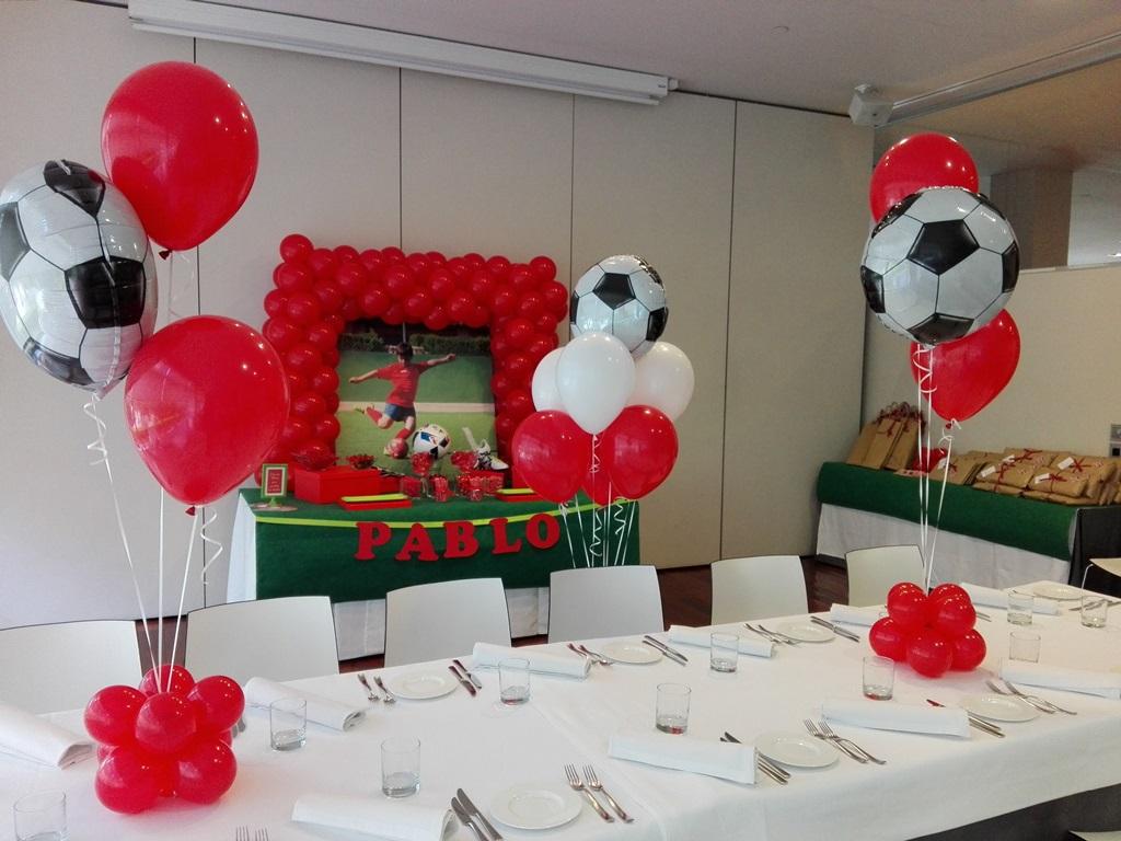 Decoracion con globos comuni n ni o valencia eleyce for Decoracion bodas valencia