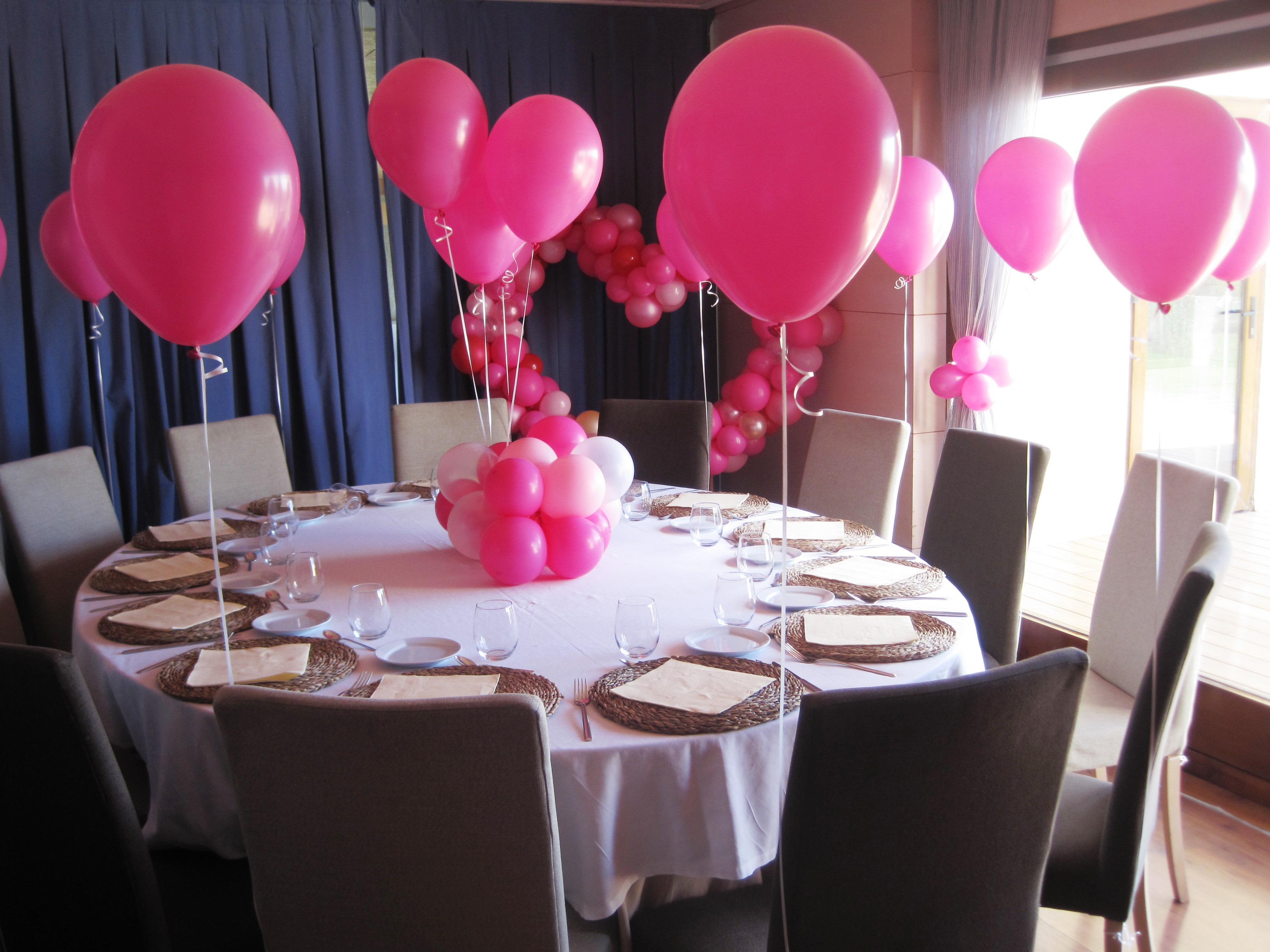 Decoracion con globos comunion nou raco eleyce eventos for Decoracion globos valencia