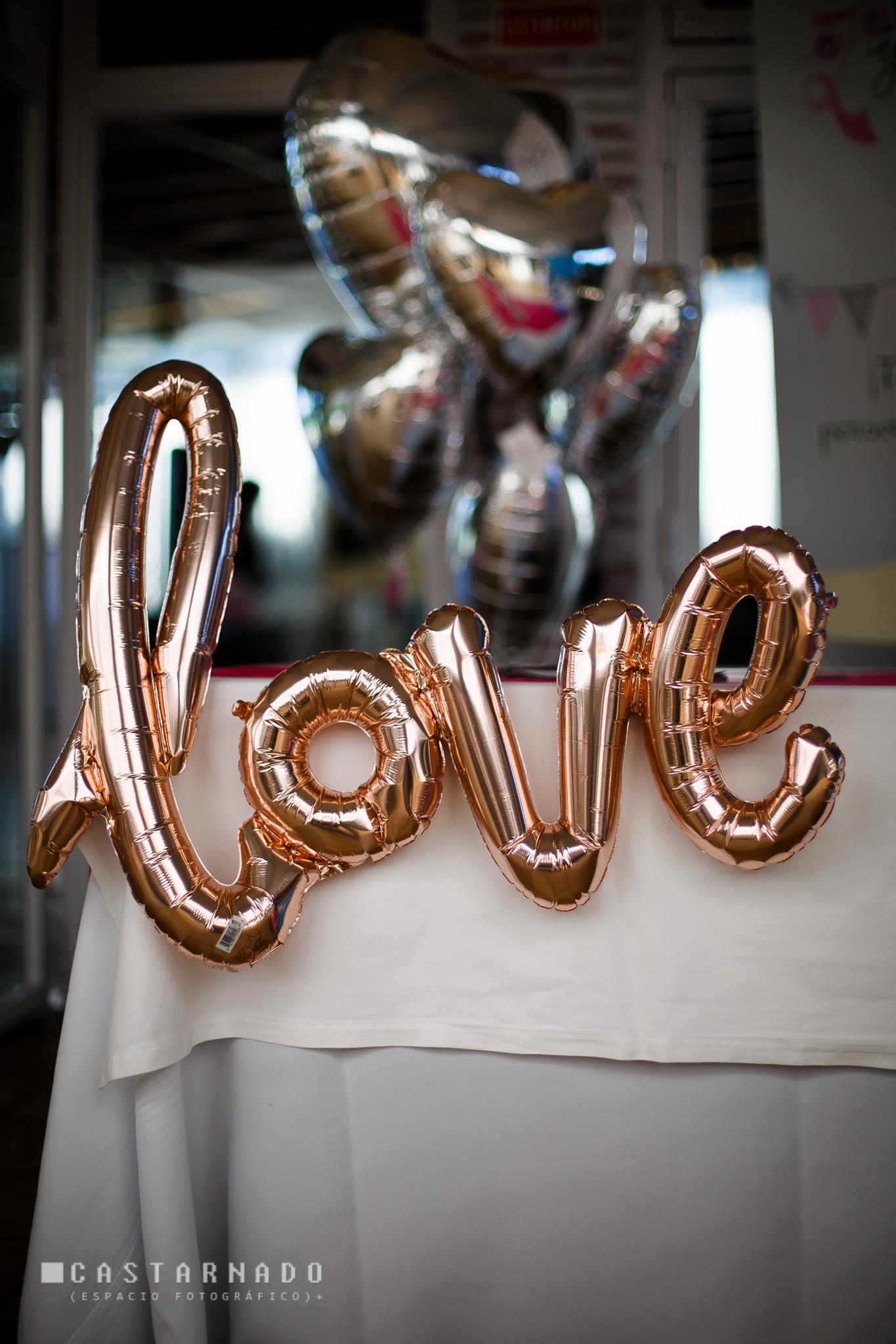 LOVE DE GLOBO PARA BODA EN VALENCIA