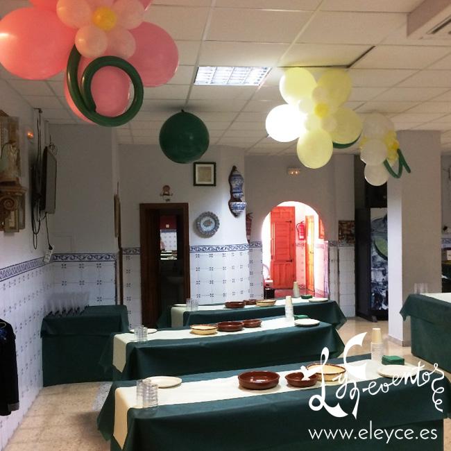 Casal proclamacion falla norte decoraci n con globos for Decoracion globos valencia