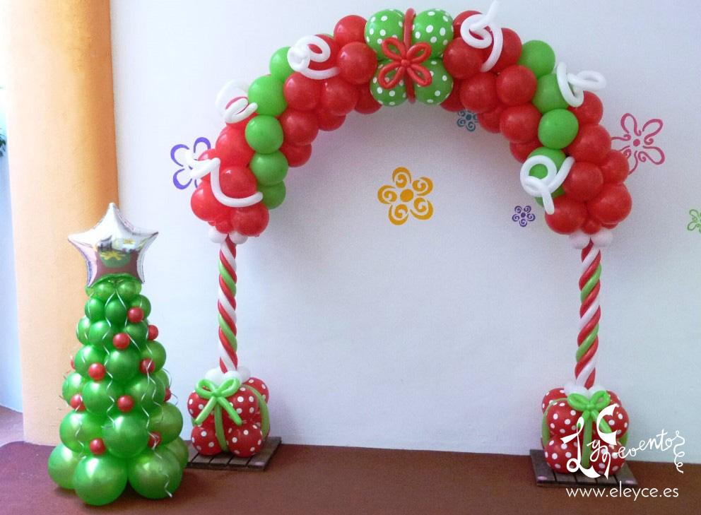 Decoracion con globos navidad valencia eleyce eventos - Decora con globos ...